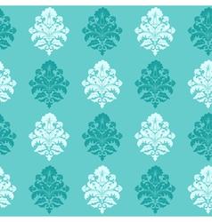Modern Floral Damask Pattern vector image