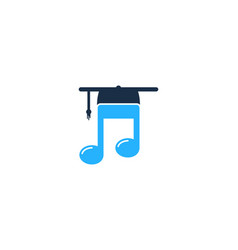 music education logo icon design vector image