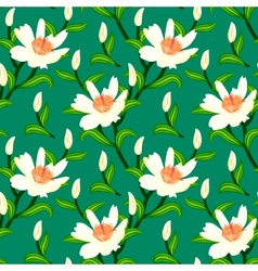 pattern with classic Japanese motifs vector image