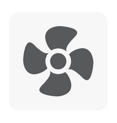 propeller icon on white vector image