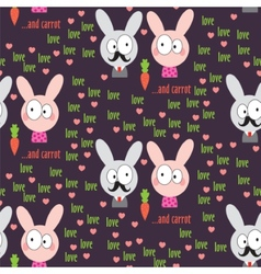 Rabbit Pattern vector