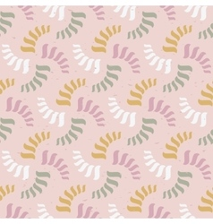 seamless abstract pattern Colorful spirals vector image
