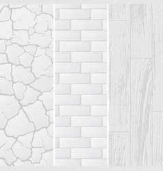 White textures background vector