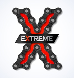 Extreme vector image vector image