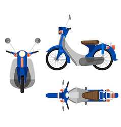 A motorcycle vector image