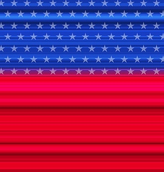 abstract american flag for happy 4th july vector image