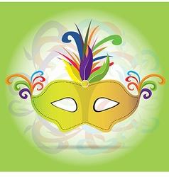 Carnival mask vector
