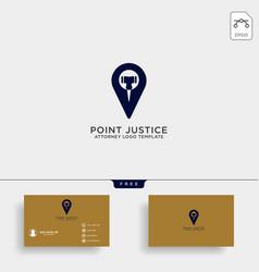 Elegant navigator attorney logo line design vector