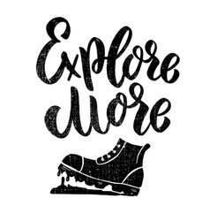 explore more lettering phrase with boots on vector image
