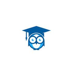 Glasses education logo icon design vector