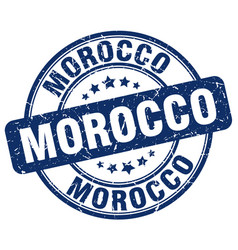 Morocco stamp vector