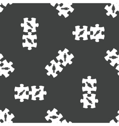 Pazzle pieces pattern vector image