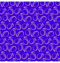 plum pattern vector image