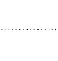 Seo - flat icons vector