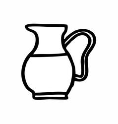 water jug vector image