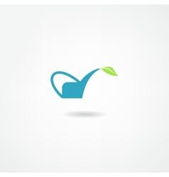 Watering icon vector