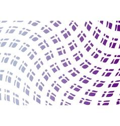wavy background in magenta color vector image