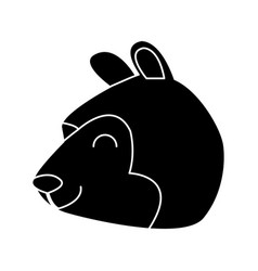 bear cartoon animal vector image