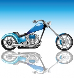 chopper vector image