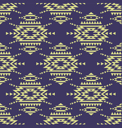 Colorful seamless decorative ethnic pattern vector