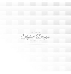 Elegant minimal pattern background with square vector