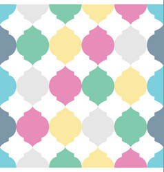 geometric squares seamless pattern vector image