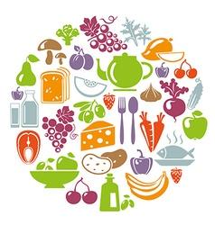 HealthyCircle vector image