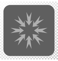 Pressure Arrows Rounded Square Button vector image