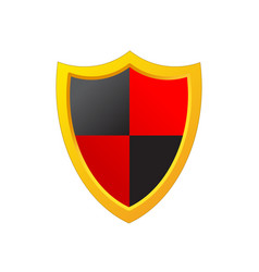 shield protection icon image design vector image