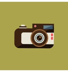 Vintage Film Camera vector image