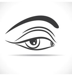 eye s beauty stock vector image