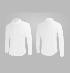 white shirt vector image vector image