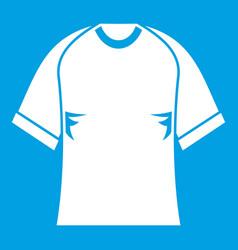 raglan tshirt icon white vector image