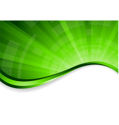 vector bright green background vector image