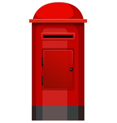 A post box vector