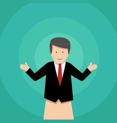 Businessman puppet dolls design vector
