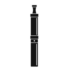 Modern vape pen icon simple style vector