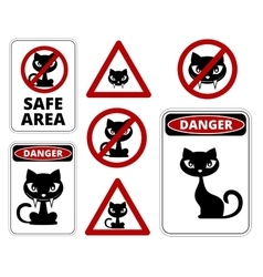 No cats vector image
