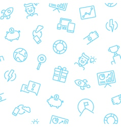 Startup Icons Background vector