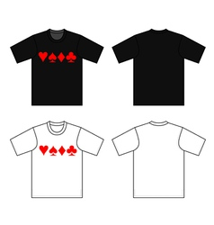 t-shirt vector image
