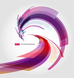 abstract background element in pink and purple vector image vector image