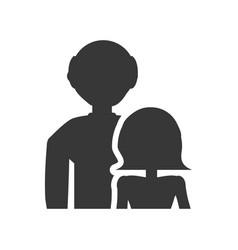 pictogram couple grandparents image vector image vector image