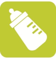 Milk Bottle II vector image vector image