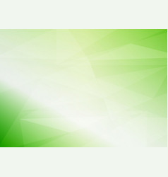 abstract light green triangular background with vector image