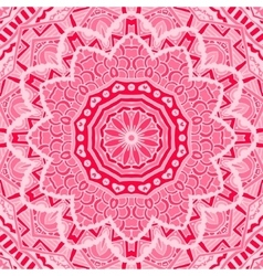 Abstract pink lace background vector