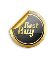 best buy sticker vector image