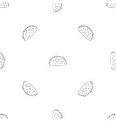 cheeseburger pattern seamless vector image