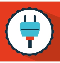 Connector icon design vector