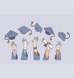 getting education and learning concept vector image
