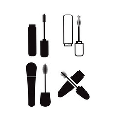mascara icon design template isolated vector image